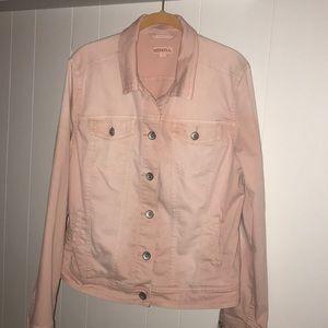 Merona Pink Denim Jacket